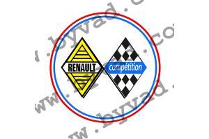 LOGO RENAULT COMPETITION 40 CM