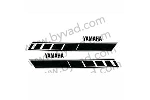 stickers YAMAHA 125 RDX 1E7 1977 RESERVOIR SEUL