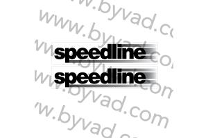 Deux stickers Speedline