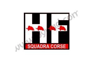 Sticker HF Squadra Corse