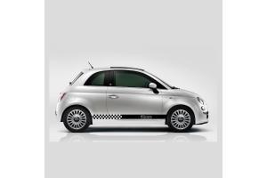 Bandes latérales Fiat 500 Racing