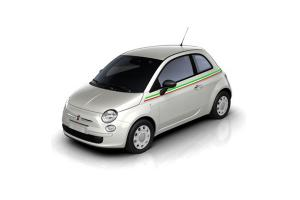 Bandes latérales Italie avec bande blanche