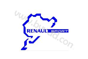 Sticker de toit Renault Sport Nurburgring