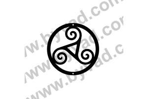 Sticker Triskel