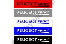 Cache plaques immatriculation PEUGEOT SPORT