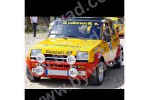 Kit déco R5 Alpine Monte Carlo 1978