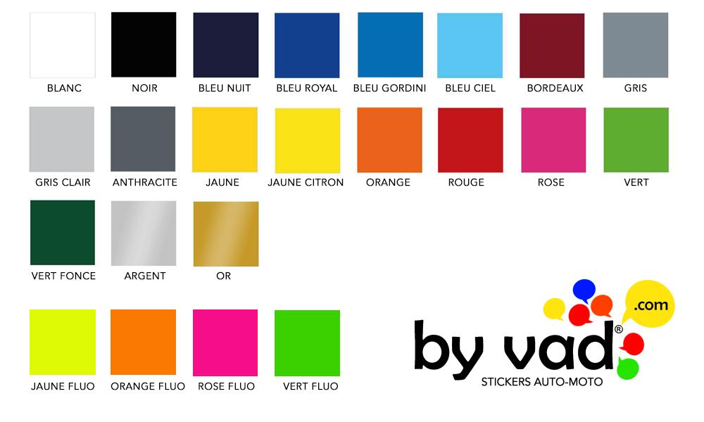 nos coloris